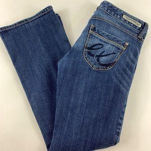 Express Stella Boot Leg Low Rise Jeans Women's 6 S